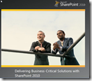 Delivering Business-Critical Solutions with SharePoint 2010 TDM
