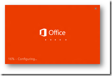 Office 2013 - Click-to -Run Splash Screen beim Start