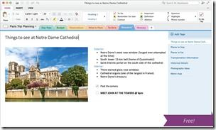 OneNote for Mac