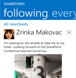Sharepoint Newsfeed App für Windows Phone und iOS fertig_