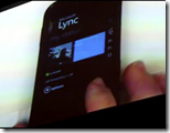 Microsoft shows off Lync Mobile thumb - Microsoft zeigt Lync Mobile: Bald Firmen-Messenger für Windows Phone 7 - iPhone und Android folgen
