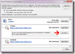 Onenote 2010 - Update für die Synchronisation