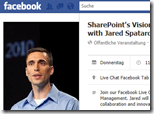"Spatar SharePoints Vision of the Social Workplace thumb - Facebook-Live-Chat mit Jared Spataro: ""SharePoint's Vision of the Social Workplace"""