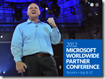 Steve Ballmer auf der Worldwide Partner Conference 2012 thumb - WPC 2012: Ballmer kündigt Windows 8 für Oktober an, Microsoft kauft Display-Hersteller, 1 Milliarde Office-Nutzer