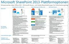SharePoint 2013 Platform Optionen thumb - Plattformwahl bei SharePoint 2013: Mit Office 365, Hybrid, per Azure oder On Premise? (Infografik)