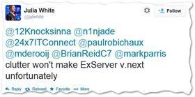 Clutter gibts nicht fr Echange Server  thumb - 'Cloud first' oder 'Cloud only'? Beispiel Clutter–oder warum Microsoft manche Funktionen nur noch Online bringt