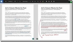Office Touch Microsoft Word 2 thumb - 'Office Touch' fast fertig? Screenshots zeigen gesamte Office-Suite für Windows Modern