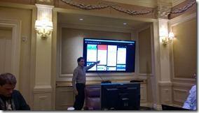 Teper demonstriert auf der SPC 2014 den neuen Office Graph
