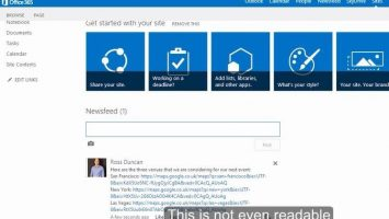 2014 08 22 13 38 22 SharePoint Shame 5 Using links on the Newsfeed on Vimeo Internet Explore 355x200 - Social-Defizite von SharePoint: URLs im Newsfeed einbetten – und wie man es richtig macht