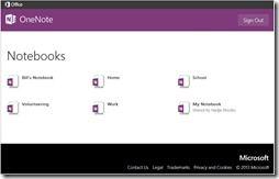 Neue Onenote Notizbcher Ansicht thumb - Neues OneNote-Portal – Microsoft startet mit dem Umstieg von 'Web Apps' zu 'Office Online'