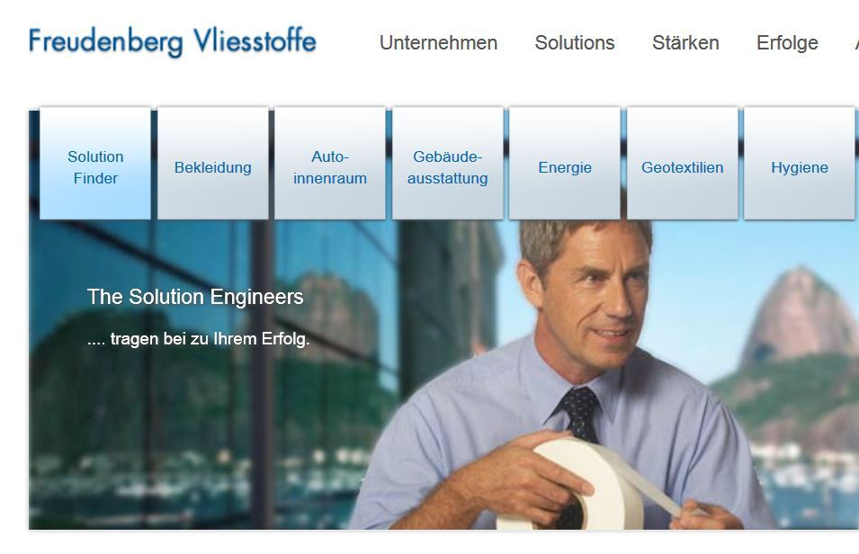 Website Freudenberg_Nonwovens