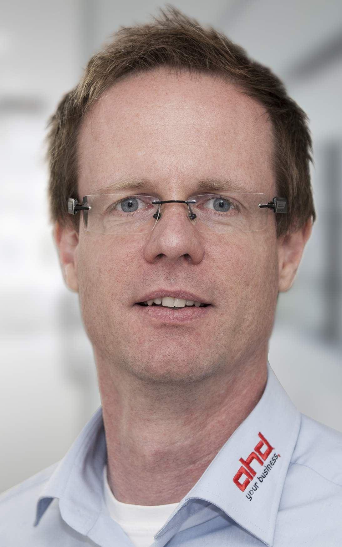Marcus Bengsch verantwortet bei ahd den Bereich Managed Services und leitet ein Team von 25 Mitarbeitern.