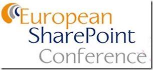 European SharePoint Conference   2015  thumb - Die European SharePoint Conference 2015 veröffentlicht ihr Programm für das Event im November in Stockholm
