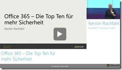 Office 365  Die Top Ten fr mehr Sicherheit CeBIT 2015  thumb - Microsoft-CeBIT-Vorträge als Video – von Office 365 über Hadoop bis Power BI