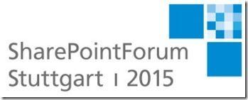 SPForum 2015 Logo thumb - SharePointForum 2015 – im September zum dritten Mal in Stuttgart mit vielen Anwendervorträgen