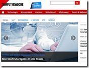 """Sharepoint in der Praxis computerwoche.de thumb - """"Sharepoint in der Praxis – Wissens- und Prozessmanagament schlägt Social"""""""