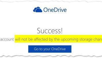 OneDrive Bonusprogramm 355x200 - Noch schnell Bonus-Speicher sichern: Microsoft gibt sich bei OneDrive (kurz) kulant