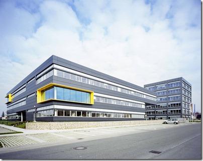 Bauunternehmen Leonhard Weiss, Standort Satteldorf