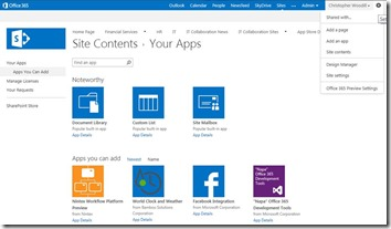 SharePoint 2013 Apps