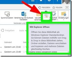 SharePoint 2016 Explorer View