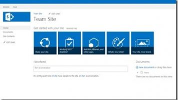 SharePoint Teamsite thumb 355x200 - Kommentar: SharePoint-Teamsite vs. Office 365 Teams – legt Microsoft die SharePoint-Collaboration trocken?