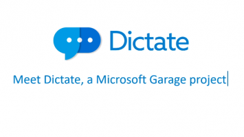 Dictate Speech Recognition for Microsoft Office 355x200 - Office zum Diktat: Microsoft bringt das kostenlose Tool Dictate als Tastaturersatz