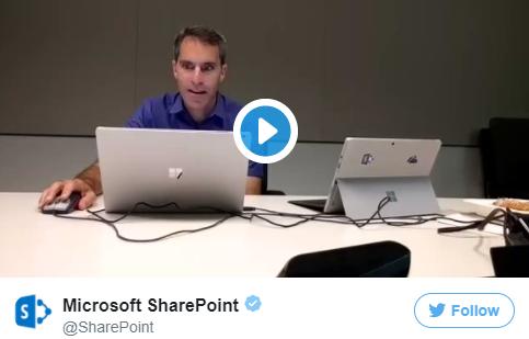 Jeff Teper beim TeperTakeover - Twitter-Sprechstunde mit SharePoint-Chef Jeff Teper: Die Highlights