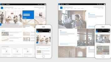 SharePoint Communication Sites 355x200 - Office 365 Communication Sites vs. SharePoint-Intranets: Wildwuchs statt kontrolliertem Publizieren?