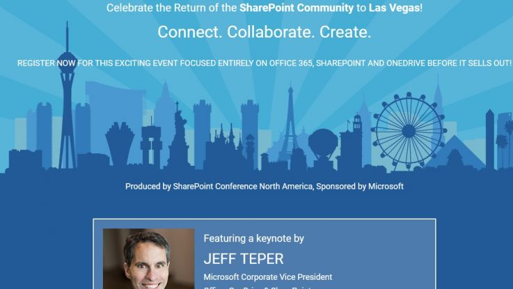 SPC NA 737x415 - SharePoint Conference North America
