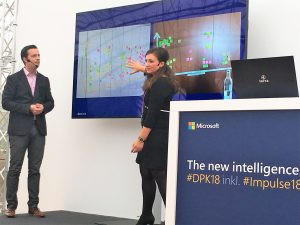 Judith Thea Schmitz (Microsoft) und Thimo Laubach (Digitoxx)