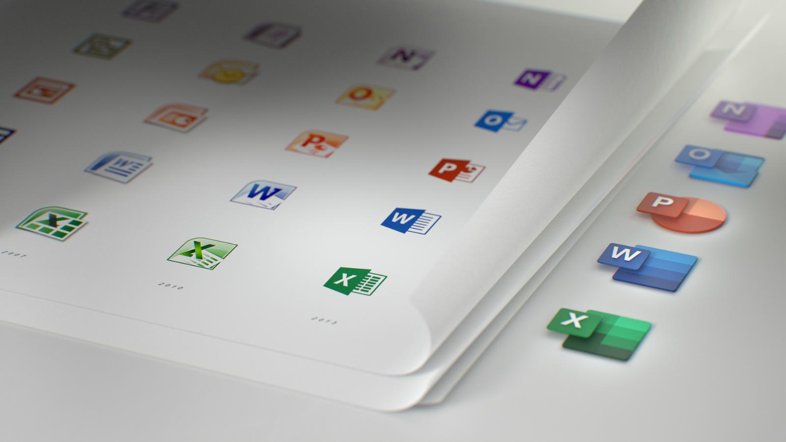 Die neuen Microsoft Office Icons 2019 (1)