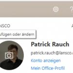 Tipp: So verwalten Sie Profilbilder in Microsoft 365 und SharePoint von zentraler Stelle aus