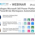"""Neuer Webinar-DOWNLOAD: 'Grundlagen Microsoft 365 Power Platform – von PowerBI bis Workspace-Automatisierung"""""""