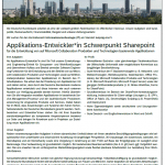 Stellenangebot: Applikations-Entwickler*in bei der Bundesbank