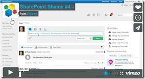 Beezy filmt Sharepoint-Social-Defizit #4