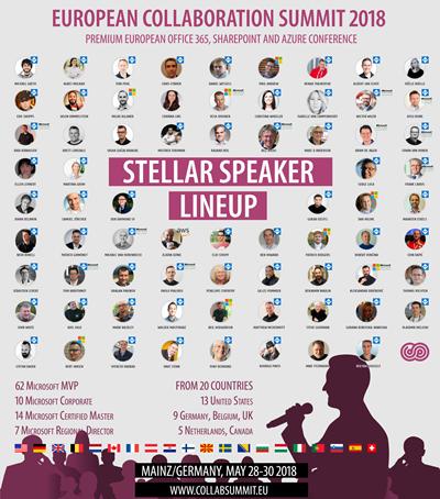 Collab-Summit Sprecher