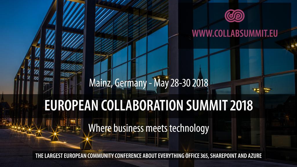 5 Freikarten gewinnen – für den European Collaboration Summit vom 28 ...
