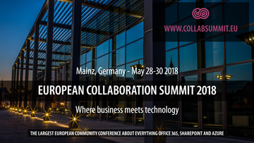 European Collaboration Summit 2018_