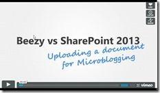 Beezy versus Sharepoint 2013