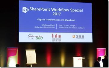 SharePoint Studie 2017 - Schwerpunkt Workflow.