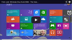 Video mit den neuen Funktionen von Windows Blue