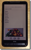 Onenote auf Windows Phone 7.5 - mit Office 365-Anbindung