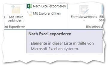 Diagramme aus SharePoint-Daten statt Excel erzeugen__