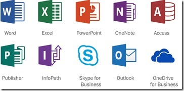 Office 2016 Icons