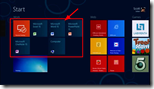 Windows 8 on ARM - Startbildschirm mit den Office-15-Kacheln -