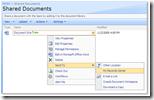 ECM-Kontextmenü in Sharepoint: Aus der Dokumentenbibliothek in das Record Center