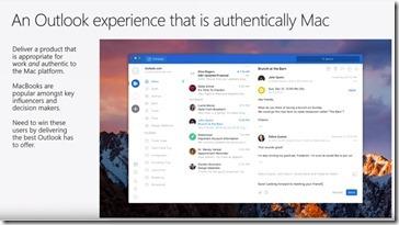 Outlook 2019 für den Mac mit plattformtypischen Besonderheiten