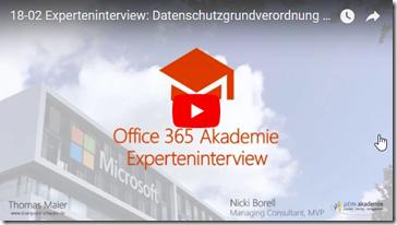 Experteninterview Datenschutzgrundverordnung mit Nicki Borell