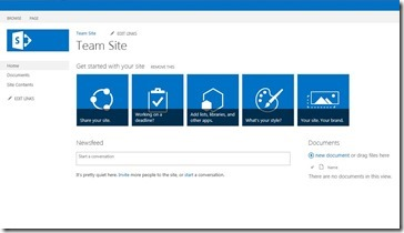 SharePoint Teamsite