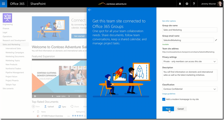 SharePoint-Virtual-Summit - Office 365 Group